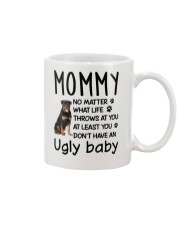 Rottweiler Ugly Baby Mug front