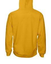 Think Before Act Owl Hooded Sweatshirt back