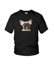 Human Dad French Bulldog Youth T-Shirt thumbnail