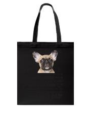 Human Dad French Bulldog Tote Bag thumbnail