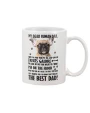 Human Dad French Bulldog Mug front