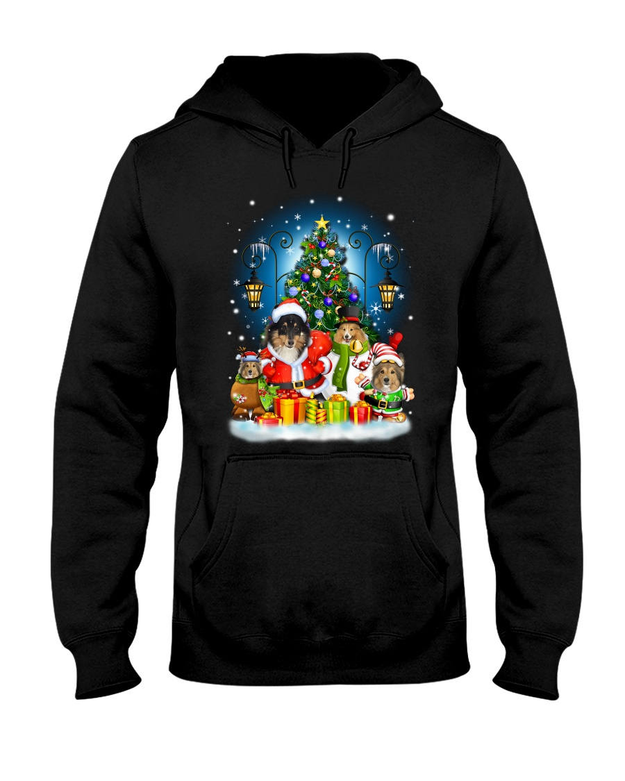 PHOEBE - Shetland Sheepdog - 1311 - A51 Hooded Sweatshirt