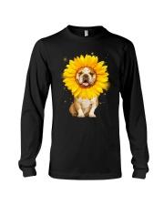 Bulldog Sun Flower Long Sleeve Tee thumbnail