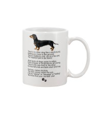 Dachshund Number One Mug front