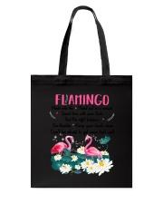 Advice From Flamingo Tote Bag thumbnail