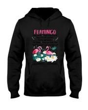 Advice From Flamingo Hooded Sweatshirt thumbnail