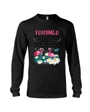 Advice From Flamingo Long Sleeve Tee thumbnail