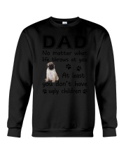 Dad Pug Crewneck Sweatshirt thumbnail
