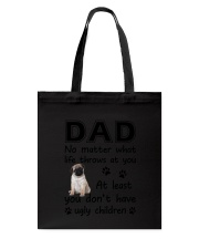 Dad Pug Tote Bag thumbnail