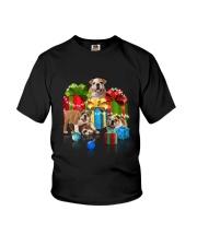 PHOEBE - Bulldog Gift Christmas - 3110 - A17 Youth T-Shirt thumbnail
