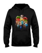 PHOEBE - Bulldog Gift Christmas - 3110 - A17 Hooded Sweatshirt front