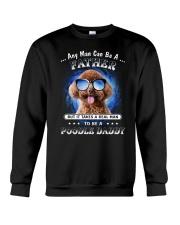 Poodle Daddy Crewneck Sweatshirt thumbnail
