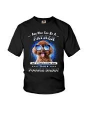 Poodle Daddy Youth T-Shirt thumbnail