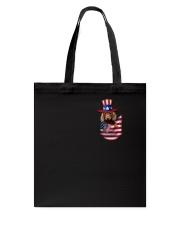Dachshund America Tote Bag thumbnail