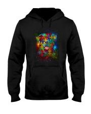 Rottweiler Autism  Hooded Sweatshirt thumbnail
