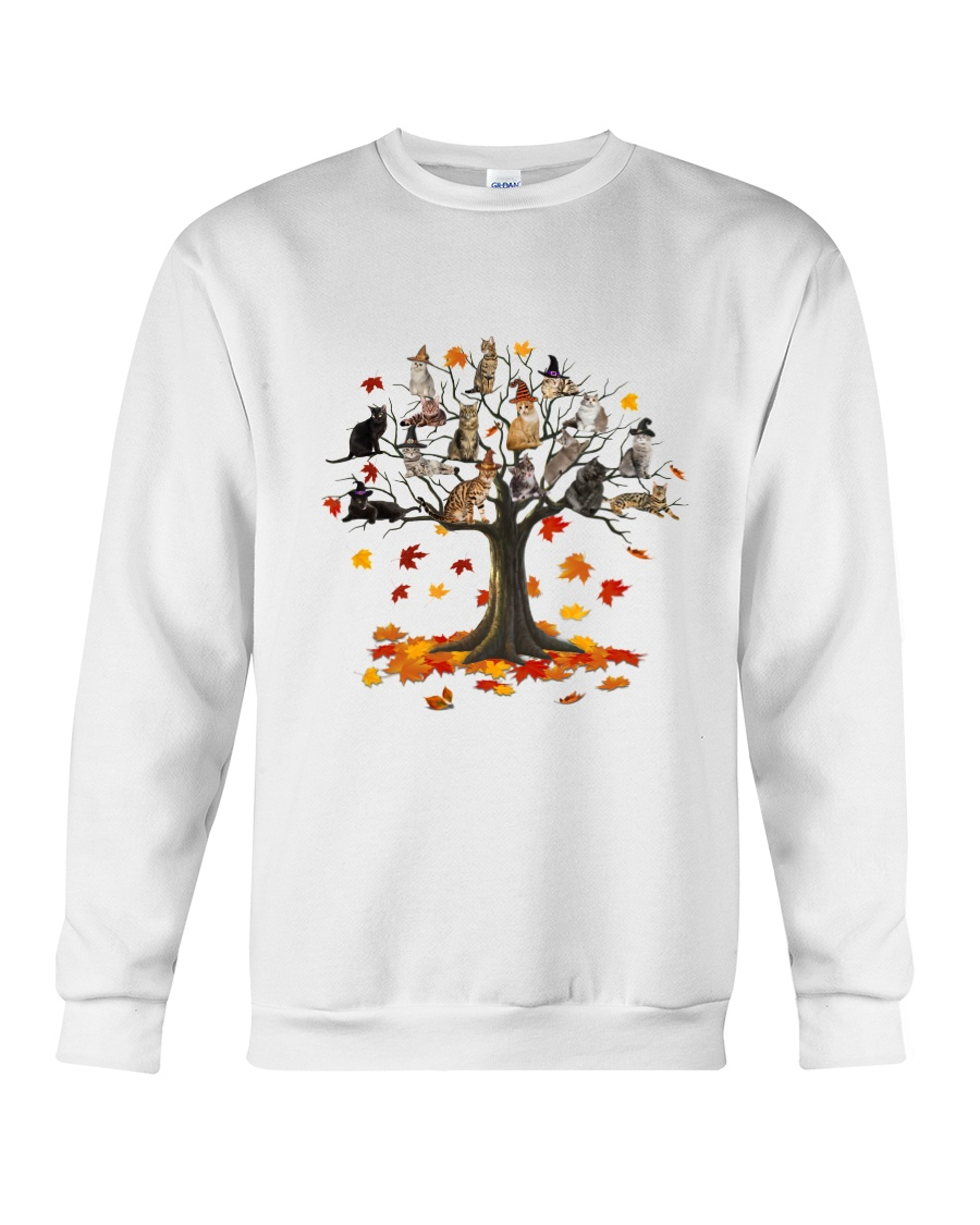 Cat Tree Crewneck Sweatshirt