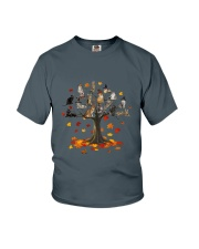 Cat Tree Youth T-Shirt thumbnail