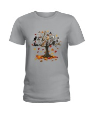 Cat Tree Ladies T-Shirt thumbnail