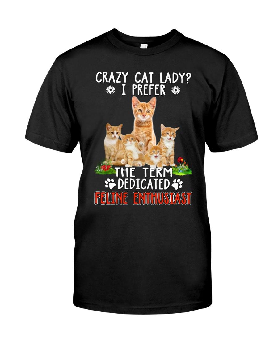 Cat Feline Enthusiast Classic T-Shirt