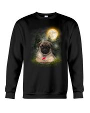 Pug Beauty Crewneck Sweatshirt thumbnail