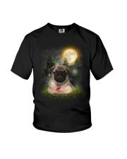 Pug Beauty Youth T-Shirt thumbnail
