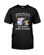 Mom Autism Classic T-Shirt front