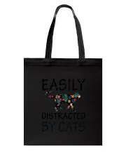Distracted By Cats Tote Bag thumbnail