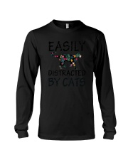 Distracted By Cats Long Sleeve Tee thumbnail