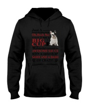 French bulldog Crazy Funny Hooded Sweatshirt tile