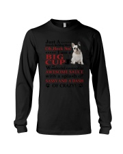 French bulldog Crazy Funny Long Sleeve Tee tile