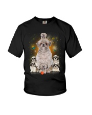 Phoebe - Shih Tzu Mom And Babies Youth T-Shirt tile