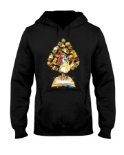 PHOEBE- snow white and seven dwarft - 0412 - 43 Hooded Sweatshirt front