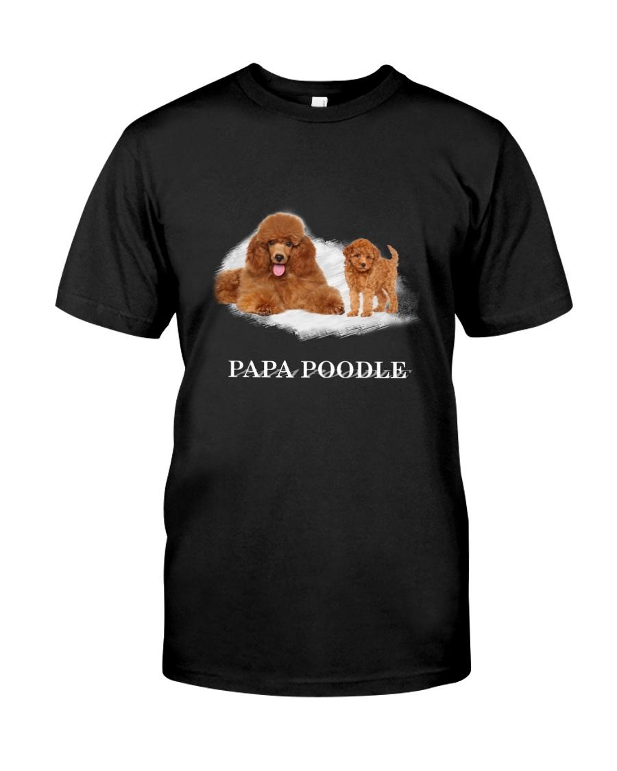 Papa Poodle Classic T-Shirt