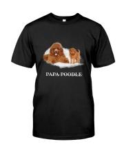 Papa Poodle Classic T-Shirt front