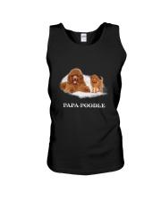 Papa Poodle Unisex Tank thumbnail