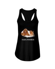 Papa Poodle Ladies Flowy Tank thumbnail