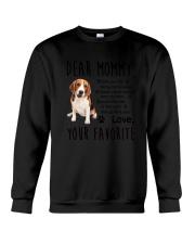 Mommy Beagle Crewneck Sweatshirt thumbnail