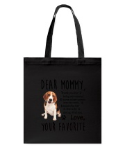 Mommy Beagle Tote Bag thumbnail