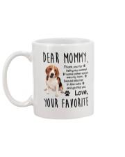 Mommy Beagle Mug back
