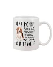 Mommy Beagle Mug front