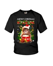 PHOEBE - Meowy Christmas - 2711 - 7 Youth T-Shirt thumbnail