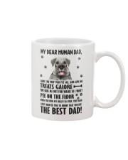 Human Dad Standard Schnauzer Mug front
