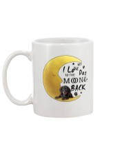 Dachshund I Love You Mug back