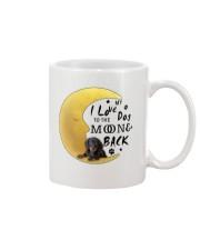 Dachshund I Love You Mug front