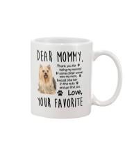 Mommy Yorkshire Terrier Mug front