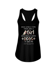 Dogs Once Upon A Time Ladies Flowy Tank thumbnail