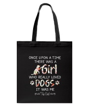 Dogs Once Upon A Time Tote Bag thumbnail