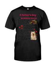Poem From Yorkshire Terrier Classic T-Shirt thumbnail