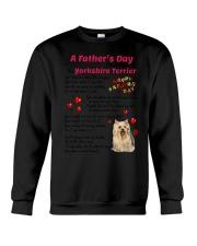 Poem From Yorkshire Terrier Crewneck Sweatshirt thumbnail