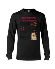 Poem From Yorkshire Terrier Long Sleeve Tee thumbnail